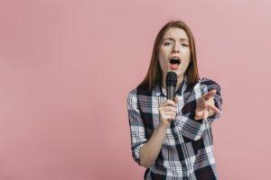 中音域→低音域→高音域の順に鍛える