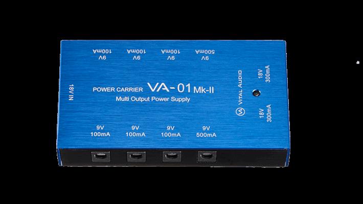 コンパクトで使いやすいPOWER CARRIER VA-01 Mk-II(Vital Audio)